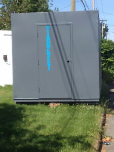 20ft Used Sea Shipping Container with Man Door