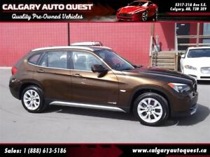 2012 BMW X1 xDrive28i AWD/LEATHER/PANORAMIC SUNROOF