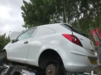 VAUXHALL CORSA D 2008 WHITE 3DR 1.3 DIESEL BREAKING FOR SPARES