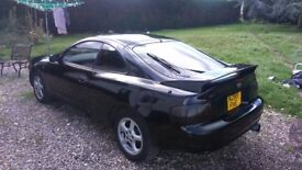 Toyota celica Jap import version, rare 4 wheel steering gt.