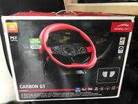 Carbon ft racing wheel PC/PS3