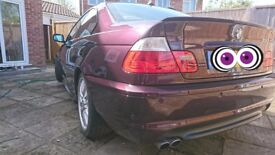 BMW 330CI M SPORT FULLY LOADED MORA METALLIC INDIVIDUAL