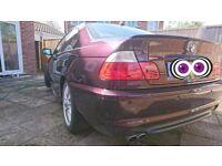 BMW 330CI M SPORT FULLY LOADED MORA METALLIC INDIVIDUAL