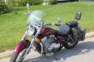 2004 fully loaded Honda Shadow 750 bike for sale