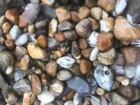 30-60mm washed pebbles