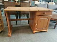 Pine dressing table with 1 drawer
