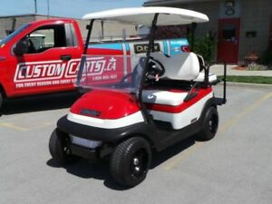 2014 CLUB CAR Precedent Golf Cart  -  New Batteries