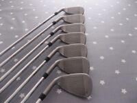 Ping G irons 4 to PW with AWT 2.0 Regular shafts