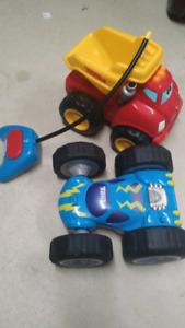 Camion  Tonka parlant et téléguidé