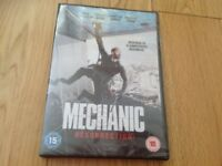 Mechanic Resurrection DVD - unopened