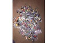 Lego minifigure huge bundle and accessories