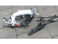 aprilia rs50 frame and bits with v5 125 rs 50 pit bike