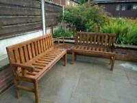 Handmade Corner bench