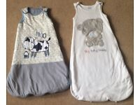Baby Sleep Bags 6 - 12 Months - 2 for £5