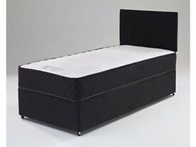**BEST Product**BRAND NEW SINGLE DIVAN BED AND DIFFERENT MATTRESS - EXPRESS DELIVERY