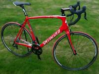 Specialized Tarmac SL2 Full Carbon Road Bike 58cm Large - Excellent Condition