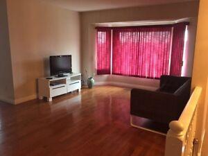 Coquitlam Center 3 bedroom furnished Upper Floor Suite