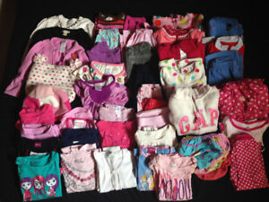 size 2T girl winter clothing