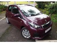 2017 Peugeot 108 1.0 Active 5 door Petrol Hatchback