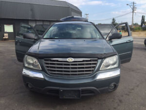 2006 Chrysler Pacifica 148,000km Leather/Alloys Certified!