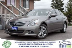 2011 Infiniti G25X Luxury   NO ACCIDENT   ONE OWNER