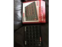 AKAI MPD 218 midi push pad and controller.