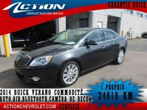 2014 BUICK VERANO SEDAN CONVENIENCE AUTO,AIR,BLUETOOTH,CAMÉRA DE