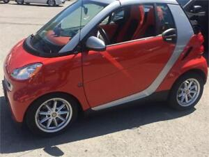 2008 Smart Fortwo convertible $6995 super low kms