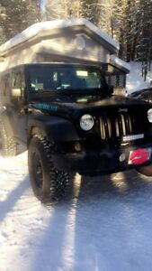 Blacked out 2010 jeep rubicon!