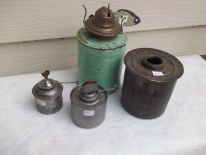 CN CP Railway parts for hand lanterns and wall lamps