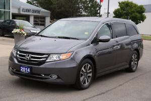 2014 Honda Odyssey Touring Minivan, Van (Acura West)