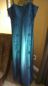 Elegant Beaded Prom Dress
