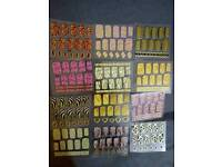 Set of 12 Glamorous Animal Print Nail Art Stickers (Brand new)