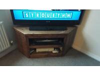 Pine TV corner Unit