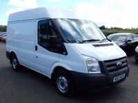 2008 ford transit t280 swb semi high roof, psvd june 2018 only 76000 miles 1 owner
