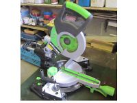 "SLIDING MITRE SAW (VIRTUALLY NEW) An ""EVOLUTION FURY 3"" 210 mm TCT Multipurpose SLIDING MITRE SAW."