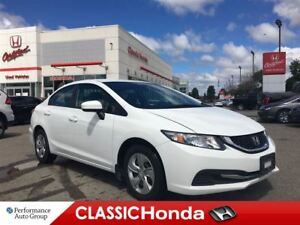 2015 Honda Civic Sedan LX | REAR CAM | BLUETOOTH | AUXILIARY |