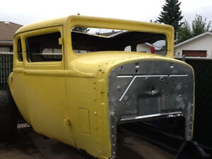 1929 Dodge 5-Window Coupe, 1932 Ford Style Hot Rod, Rat Rod