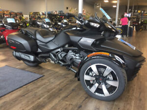 New 2017 Can-Am Spyder F3T