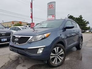 2013 Kia Sportage EX FWD|NO ACCIDENT|LOCAL TRADE|MID LEVEL PACKA