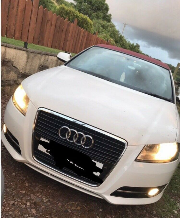 AUDI A3 SPORT 1.6 CABROLET WHITE 2dr