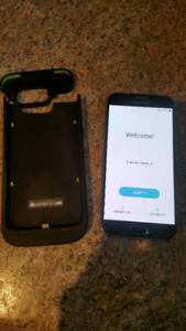 Samsung Galaxy S6 (with Mophie) UNLOCKED