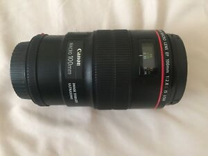 100mm Macro Lens EF Canon for sale $700