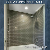 Call QUALITY TILING @  at 226 975.4405✔️