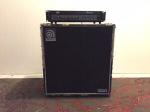 ampeg svt 3 pro with classic 4x10 cabinet