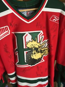 05-06 HALIFAX Mooseheads jerseys