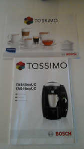 Tassimo Coffee Maker and Drawer Storage