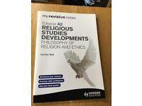 Edexcel A2 Religious Studies - Gordon Reid