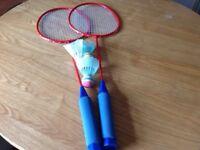 Badminton set x2