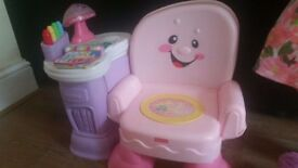 Fisher-Price Laugh & Learn Singing Chair Pink